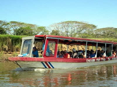Boat Crocodile Tour Costa Rica
