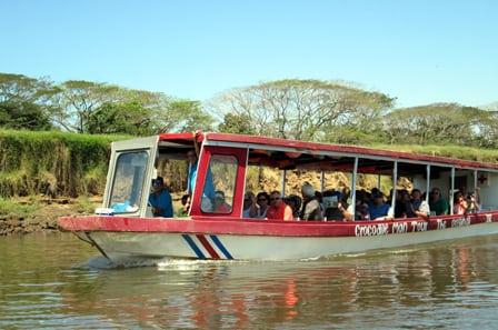 Boat Crocodile Tour Costa Rica